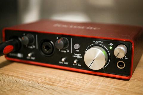 Jak nagrywać gitarę interfejs audio