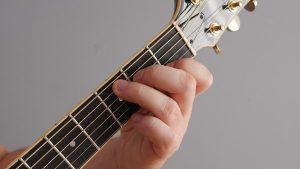 akord Cdur na gitarze