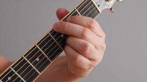 akord Gdur na gitarze