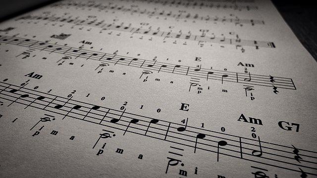 Budowa akordów - dur, mol, zwiększony, zmniejszony