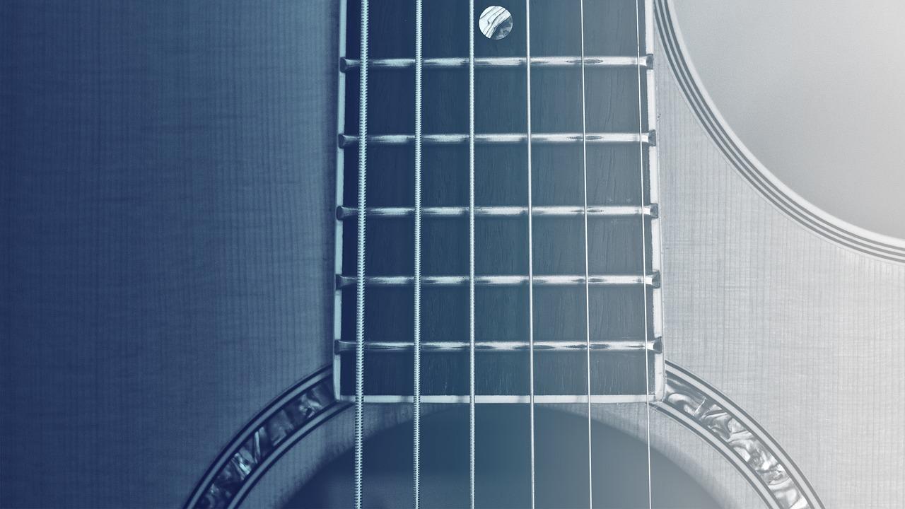 Nazwy strun w gitarze