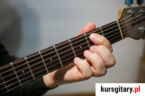 power chord E5 jak złapać na gitarze