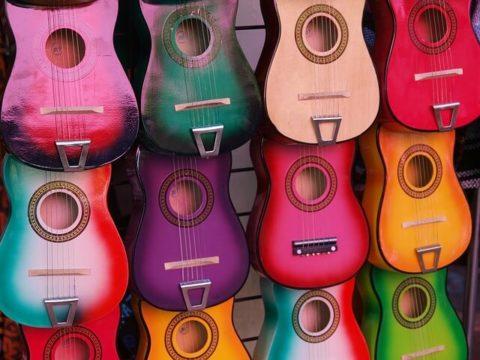 rozmiar gitary do nauki
